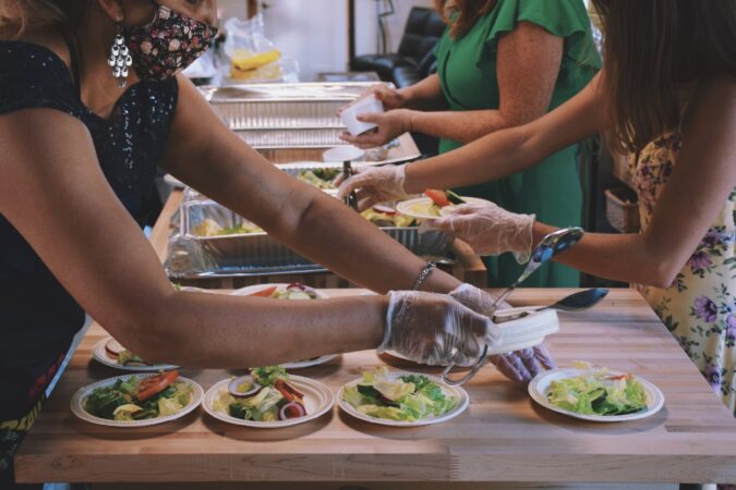 Healthy catering service makes for healthy and peaceful people -